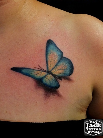 Tattoo Milano BigJackTattooHouse Farfalla Butterfly