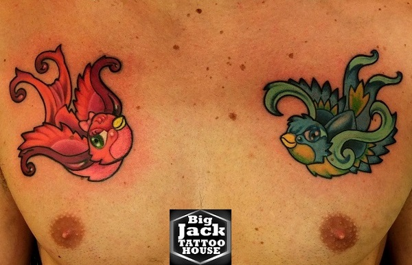 Tattoo Milano Cartoons Tatuaggi Cartoons All Family